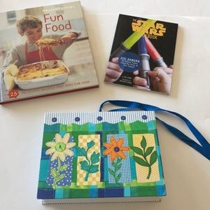 Williams Sonoma kids cookbook and more